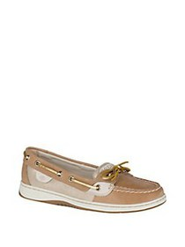 Sperry Angelfish 2.0 Metallic Leather Boat Shoes L