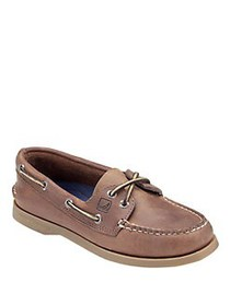 Sperry AO Leather Boat Shoes NUTMEG