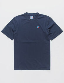 RUSSELL ATHLETIC Baseliner Navy Mens T-Shirt_