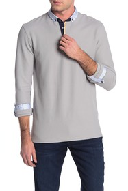 Maceoo Long Sleeve Polo