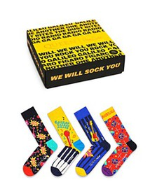 Happy Socks - Queen Crew Socks Gift Box - Pack of