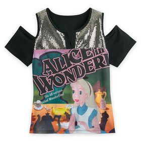 Disney Alice in Wonderland Fashion Top for Women