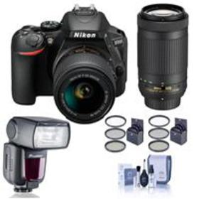 Nikon D5600 DSLR with DX 18-55mm f/3.5-5.6G VR & D