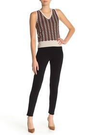 525 America Knit High Waisted Skinny Pants