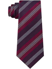 Kenneth Cole Reaction Men's Rail Stripe Slim Tie,