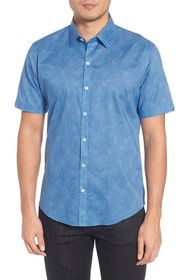 Zachary Prell Siguenza Floral Short Sleeve Sport S