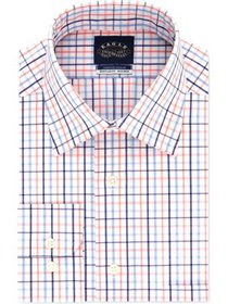 Eagle Mens Checkered Classic Fit Button-Down Shirt