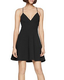 BCBGENERATION - Cross-Back Skater Dress