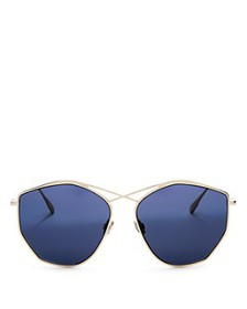 Dior - Women's Stellaire Mirrored Geometric Sungla