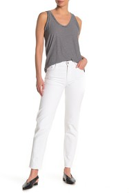 Tractr High Rise Slim Straight Jeans