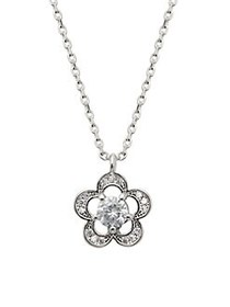 Kate Spade New York Silvertone and Cubic Zirconia