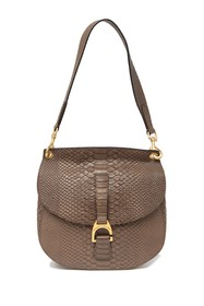 Dooney & Bourke North/South Reese Reptile-Embossed