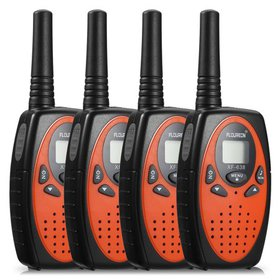 Walkie Talkies,4packs FLOUREON 22 Channel Long Ran