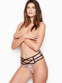 Victoria Secret Ringmaster High-Waist Mesh Thong P