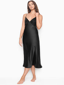 Victoria Secret Embellished Midi Slip Dress