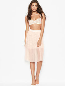 Victoria Secret Tulle & Floral Lace Skirt