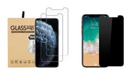 Tempered Glass & Privacy Screen Protector For iPho