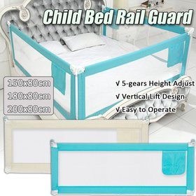 Height Adjustable Bed Guard Toddler Safety Baby Be