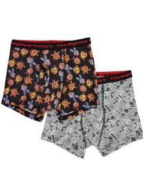 Five Nights at Freddy's, Boys Underwear, 2 Pack Bo