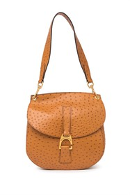 Dooney & Bourke North/South Reese Ostrich Embossed