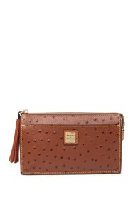 Dooney & Bourke Gingy Convertible Ostrich Leather