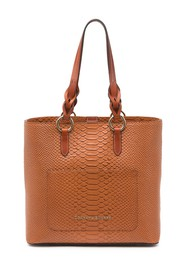 Dooney & Bourke Caldwell Snake Embossed Leather Pa