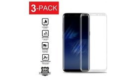 3x Curved Full Screen Tempered Glass for Samsung G