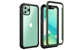 Built-In Screen Protector Clear Full Case iPhone 1