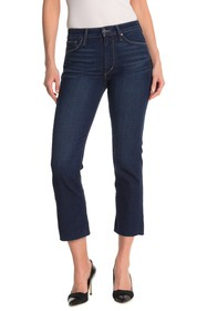 Joe's Jeans High Rise Crop Bootcut Jeans