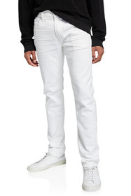 7 for all mankind Men's Adrien Airweft Straight-Le