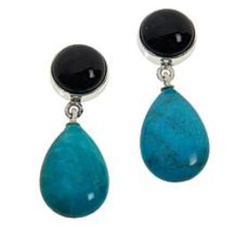 Jay King New Red Skin Turquoise and Midnight Chalc