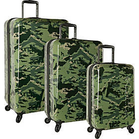 Columbia Luggage Maple Trail 3 Piece Hardside Spin
