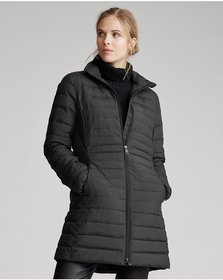 Ralph Lauren Packable Long Down Coat