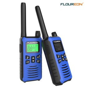 Walkie Talkies,2packs FLOUREON 22 Channel FRS/GMRS