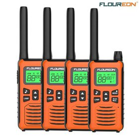 Walkie Talkies,FLOUREON 22 Channel,4 Pack FRS/GMRS