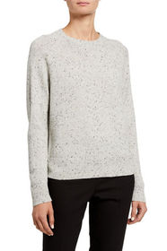Theory Donegal Speckled Easy Crewneck Sweater