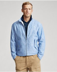 Ralph Lauren Striped Linen Jacket
