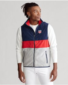 Ralph Lauren Polo Shield Fleece Vest