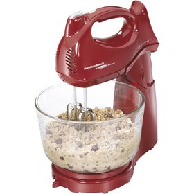 Hamilton Beach Power Deluxe 6 Speed Stand Mixer, M