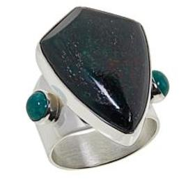 Jay King Australian Oasis Stone and Turquoise Ring