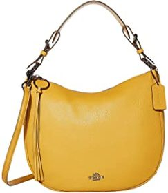 COACH Polished Pebble Leather Sutton Hobo