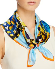 Echo - Butterfly Wings Silk Scarf