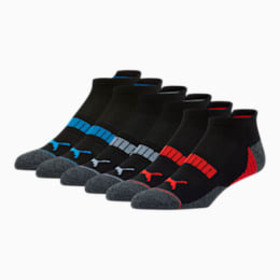 Puma Men's Low Cut Perforated Socks [6 Pack]
