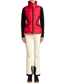Moncler Fitted Puffer Vest