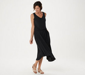 """As Is"" Lisa Rinna Collection Asymmetric Hem Tank"