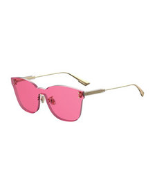 Dior ColorQuake2 Rectangle Shield Sunglasses
