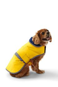 Lands End Dog Coat Solid Squall Jacket