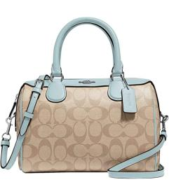 COACH Signature Messico Mini Bennett Satchel
