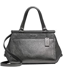 COACH Metallic Leather Grace 20 Bag