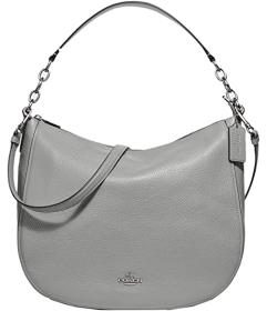 COACH Pebbled Leather Elle Hobo
